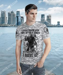 viking i don't know how my story ends but it will never say i gave up all over printed shirt 3(1)