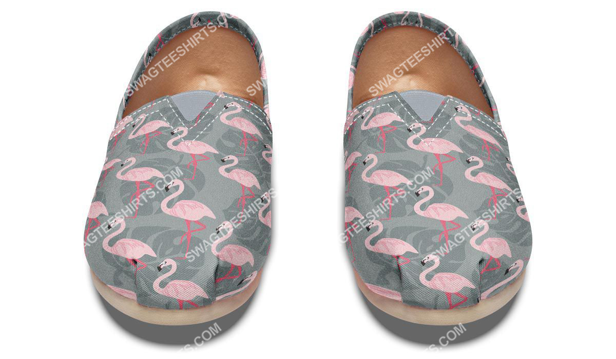 flamingos lover all over printed toms shoes 5(1)