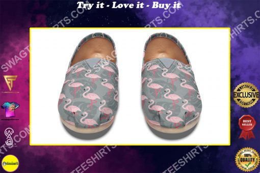flamingos lover all over printed toms shoes