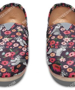 floral schnauzer all over printed toms shoes 2(1)