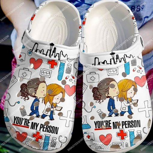 grey's anatomy you're my person all over printed crocs 3(1)