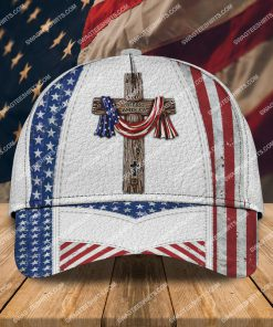 happy independence day God bless america all over printed classic cap 2 - Copy (2)