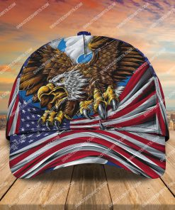 happy independence day america all over printed classic cap 2 - Copy (2)