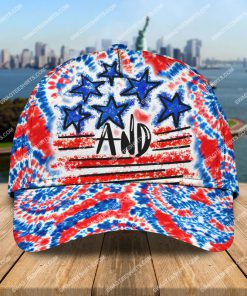 happy independence day america tie dye all over printed classic cap 2 - Copy (2)