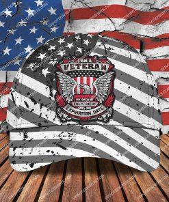 i am a veteran my oath of enlistment has no expiration date classic cap 2