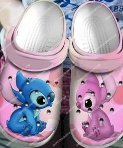 lilo and stitch all over printed crocs 1(1)