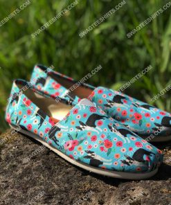 retro boston terrier dogs lover all over printed toms shoes 2(1) - Copy