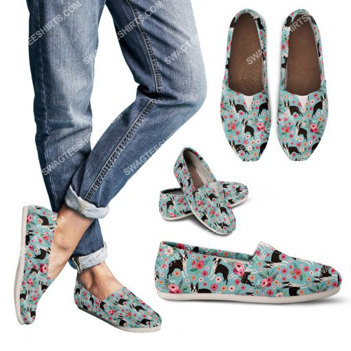 retro boston terrier dogs lover all over printed toms shoes 3(1) - Copy