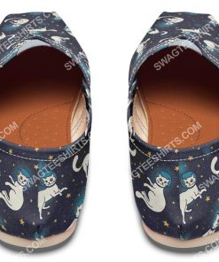 space cats lover all over printed toms shoes 4(1)