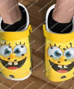 spongebob squarepants cartoon all over printed crocs 2(1)