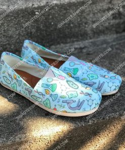 the science equipment pattern all over printed toms shoes 2(1)