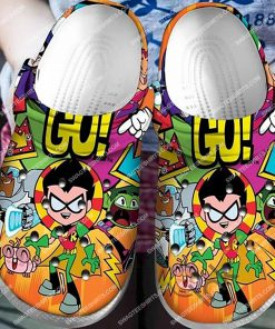 the teen titans all over printed crocs 1(1)
