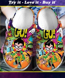 the teen titans all over printed crocs