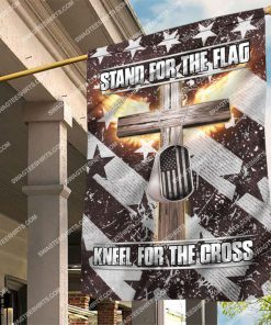 usa veteran stand for the flag kneel for the cross flag 2 - Copy (2)