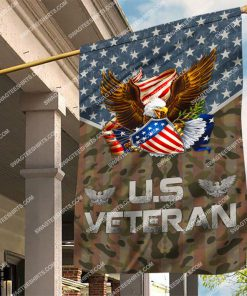 usa veteran with eagle all over printed flag 2 - Copy (2)