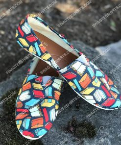 vintage book lovers all over printed toms shoes 2(1) - Copy