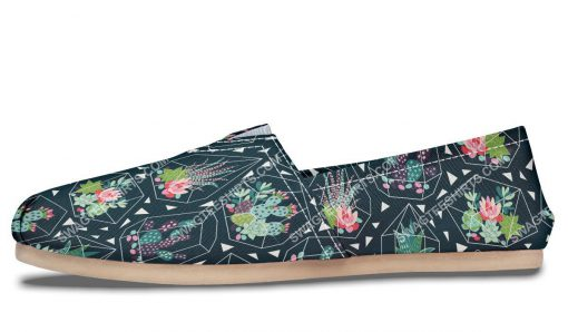 vintage cactus all over printed toms shoes 5(1)