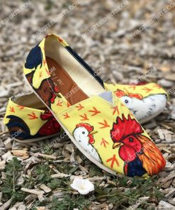 vintage chicken all over printed toms shoes 2(1) - Copy