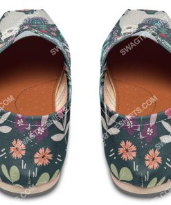 vintage llama and flower all over printed toms shoes 4(1)