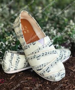 vintage sheet music all over printed toms shoes 2(1) - Copy
