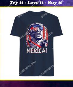 4th of july trump 'merica salt bae style shirt