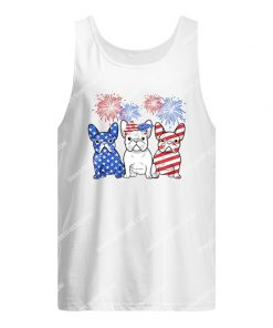 happy independence day french bulldog tank top 1