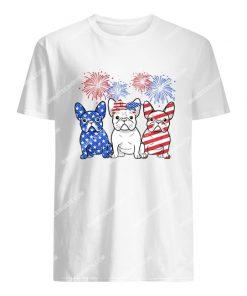 happy independence day french bulldog tshirt 1
