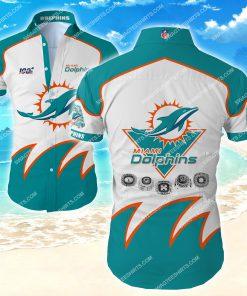 miami dolphins all over print hawaiian shirt 2 - Copy (2)