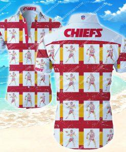 national football league kansas city chiefs team hawaiian shirt 2 - Copy (2)