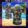 national football league new orleans saints floral hawaiian shirt