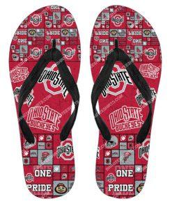 national football league ohio state buckeyes full printing flip flops 2 - Copy (2)