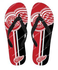 national hockey league detroit red wings full printing flip flops 2 - Copy