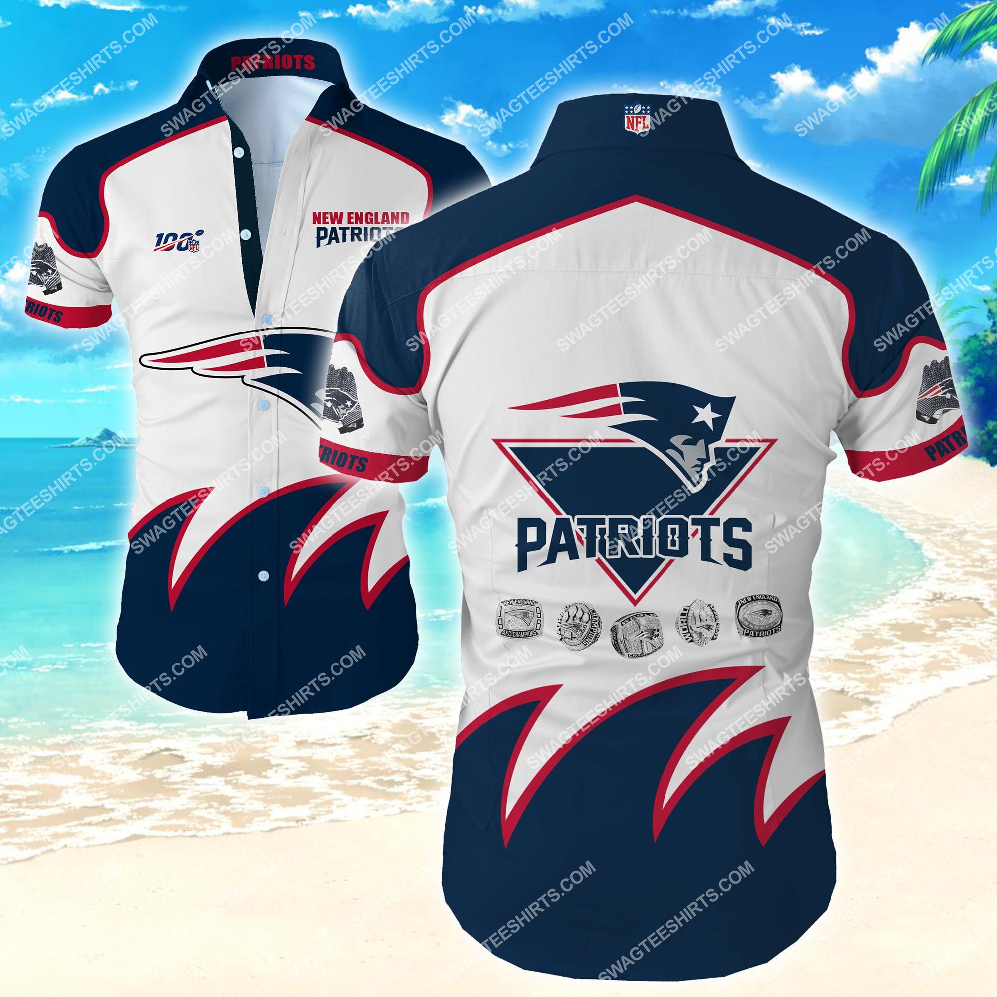 new england patriots floral all over print hawaiian shirt 2 - Copy (3)