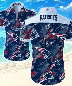 nfl new england patriots floral hawaiian shirt 2 - Copy (2)