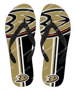 the anaheim ducks hockey full printing flip flops 2 - Copy (2)
