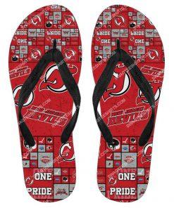 the new jersey devils hockey full printing flip flops 2 - Copy (2)