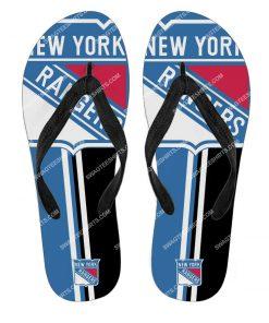 the new york rangers hockey full printing flip flops 2 - Copy (2)