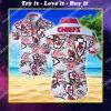 tropical kansas city chiefs team summer hawaiian shirt