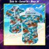 tropical miami dolphins football all over print hawaiian shirt