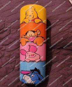 winnie the pooh tigger eeyore piglet vintage steel skinny tumbler 1(1)