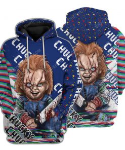 Custom child's play horror movie for halloween night hoodie 1