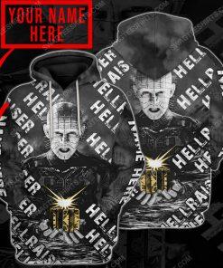 Custom hellraiser horror movie for halloween night hoodie 1