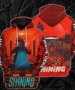 Custom the shining horror movie for halloween night hoodie 1