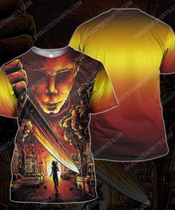 Michael myers horror movie for halloween night tshirt 1