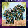 bud light beer aloha tropical all over print hawaiian shirt