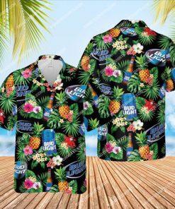 bud light beer summer party all over print hawaiian shirt 1
