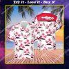 summer party coors light beer all over print hawaiian shirt