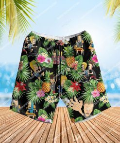 the beavis and butt-head tv show summer party all over print hawaiian shorts 1