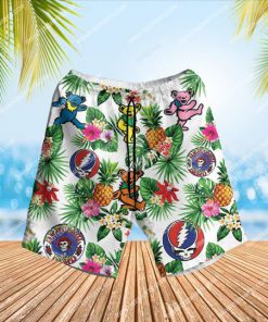 the grateful dead band summẻ vibes all over print hawaiian shorts 1 - Copy
