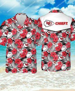 the kansas city chiefs football team all over print hawaiian shirt 1